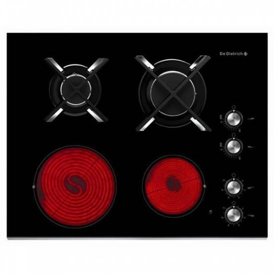 Table de cuisson mixte radiant de dietrich dtg1115x for Table cuisson mixte gaz induction grande largeur