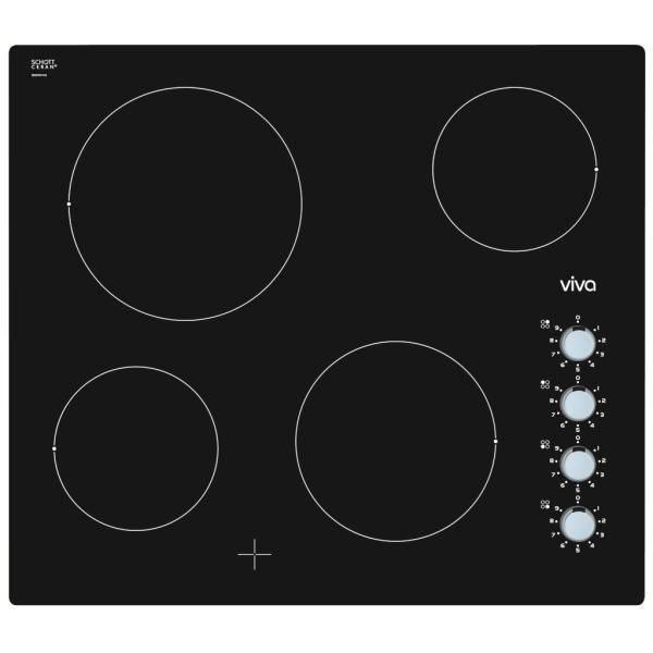 Table de cuisson vitroc ramique viva vvk26r75c0 - Table vitroceramique blanche ...