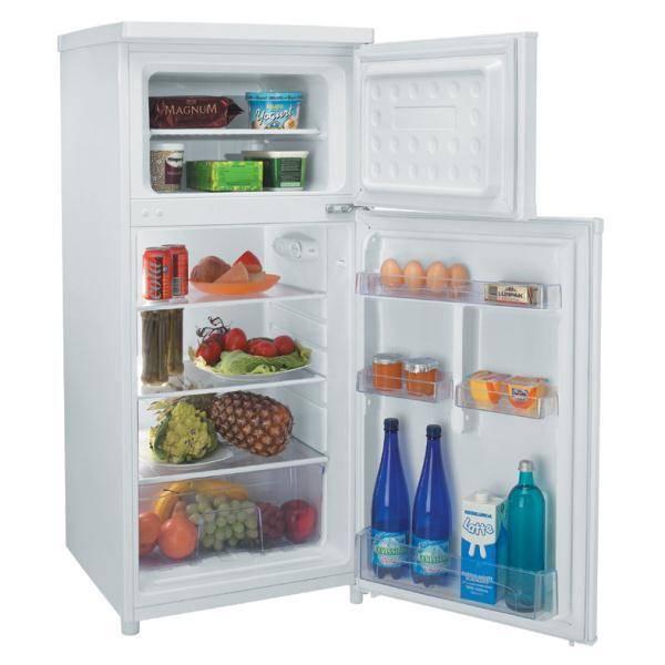 r frig rateur 2 portes candy ccds5122w. Black Bedroom Furniture Sets. Home Design Ideas