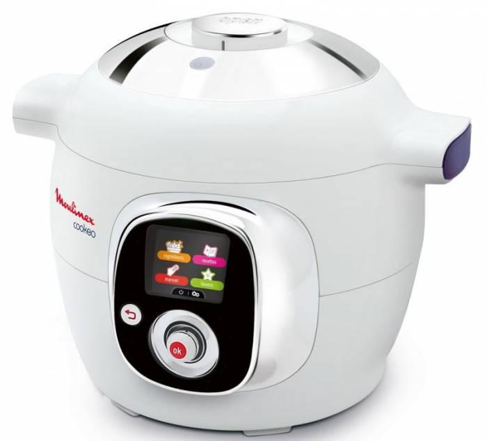 Cuiseur multicuiseur moulinex ce704110 for Robot cuisine cookeo