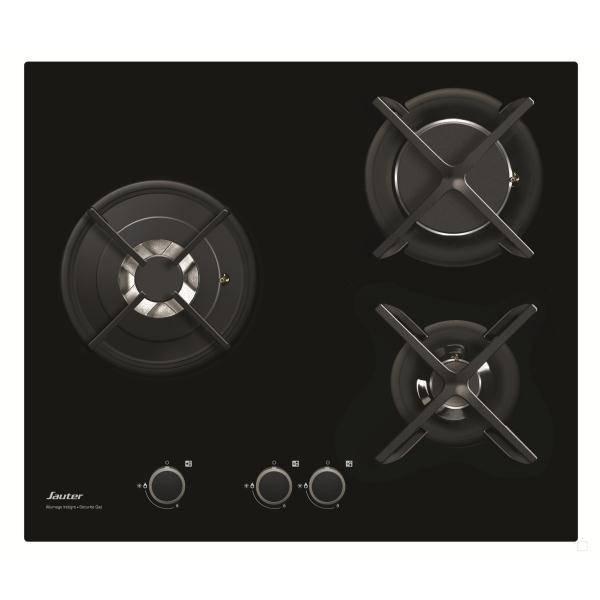 Table de cuisson gaz sauter spg4367b - Plaque cuisson gaz verre ...