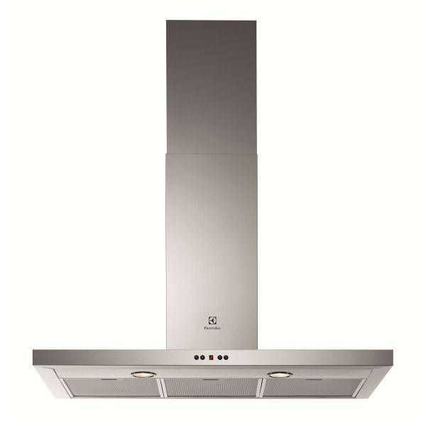 Hotte electrolux efb90981ox for Hotte decorative murale 90 cm electrolux efc90400x inox