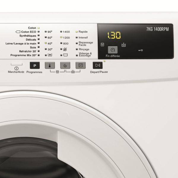 Lave linge frontal electrolux ewf1472bs - Dimension lave linge encastrable ...