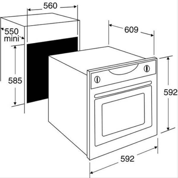 Four encastrable nettoyage pyrolyse sauter sfp937x - Four encastrable sauter pyrolyse ...