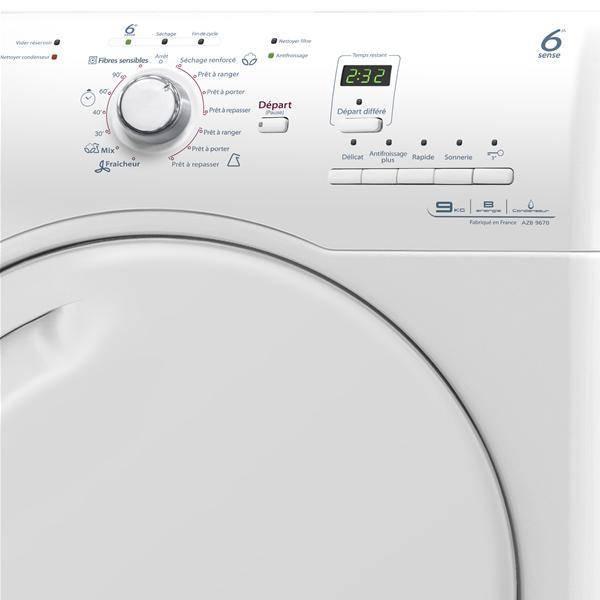 s che linge 9kg condensation whirlpool azb9670. Black Bedroom Furniture Sets. Home Design Ideas